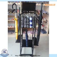 Adjustable metal umbrella display rack stand HL039G