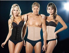 Hot !! classic latex waist cincher / waist tummy belly corset/ body shapewear / latex waist trimmer free shipping as seen on TV