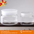 wide mouth 250ml pot en plastique transparent