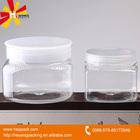 wide mouth 250ml plastic jar transparent