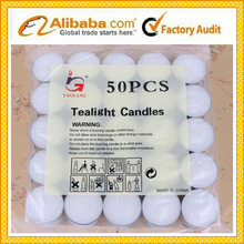 good quality white tealight candle