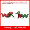 Christmas snake ZY11S407-1-2 10'' santa claus ornaments