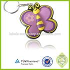 Promotional 3d mini sport badminton keychain
