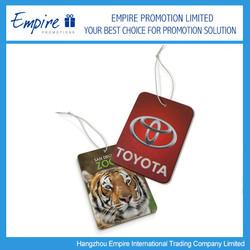 New Design Promotional paper car air freshener, air freshener for car, car air freshener