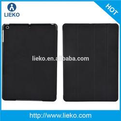 New design 4 folds kickstand leather case for Ipad air /Ipad 5