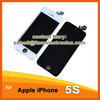 Touch Screen Digitizer LCD Assembly Home Button Replacement for iPhone 5S