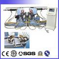 المزدوج-- رئيس التلقائي انابيب الصلب والأنابيب المعدنية الهيدروليكية آلة الانحناء وبار