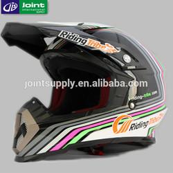 DOT Motorcycle Full Face Motor Cross Helmet With Visor