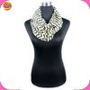 lady's chiffon stripe infinity scarf