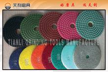 Diamond pad granite polishing pads for angle grinder