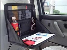 car backseat bag car mini office table car seat laptop organizer