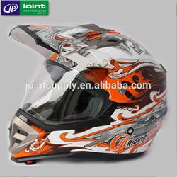 ABS Material ECE Motorcycle Full Face Cross Helmet For Kids