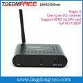 Hd receptor de satélite digital hd mini tocomfree g928 mini conversor de tv digital set-topbox