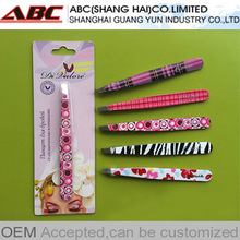 OEM stainless steel eyebrow tweezers