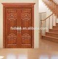 swing double entrée principale des portes en bois