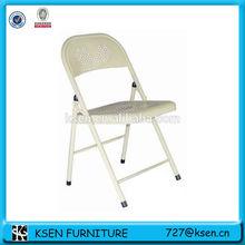 Comfortable simple metal folding dining chair KC-7383