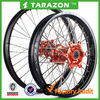 Hot Sale Whole Set Front and Rear Aluminium Motorcycle Rim and Hub Wheel for CRF250R