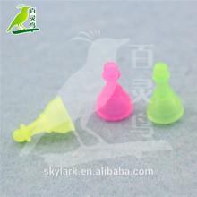 baratos pequeño tablero plástico de las piezas del juego