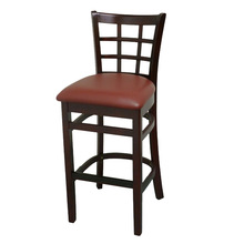 T290B Cheap Rubber Wood Antique Leather Club Chairs