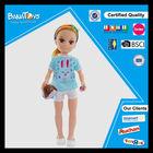Girl beauty toy 43cm cheap doll