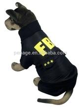 FBI winter large dog clothing