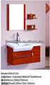 en bois massif de salle de bains vanity