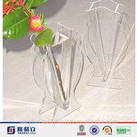 handmade acrylic flower vase display