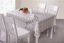 Elegant PVC venice banquet lace tablecloth