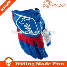 Rigwal professional custom designed leather motorbike gloves