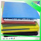 Non-toxic custom-made pp corrugated/flute/coroplast plastic cake board for wholesale