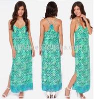 European Style Casual Summer Dresses Wholesale Women Dresses / Usine De Vetement Femme