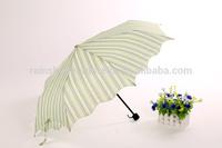 Spain market Printed special edge folding umbrella