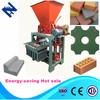 Profitable machine for making concrete block