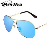 Bertha Metal Frame Sunglasses True Color 806 Ice Blue