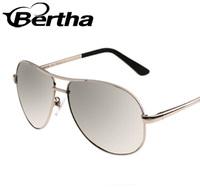 Bertha True Color Silhouette Sunglasses 806 Mercury