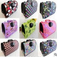 MOQ:50sets Oxford Cloth Single Shoulder Pet Carrier Dog Bag Pet Bag in lots of designs in S,M,L