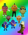 bella prospettiva costumi di carnevale frutta frutta costumi in maschera