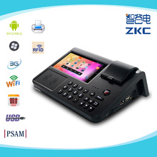pc700 android pos terminal with 3G WIFI and RFID reader and thermal printer and PSAM encryption