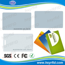 LF 125khz ABS/PVC proximity access control card with customized design