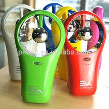 2014 Summer promotion gift mini handheld water spray fan