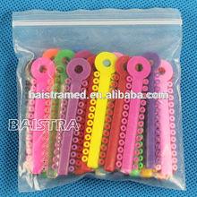 High Quality dental instruments Orthodontic Materials,Elastic Ligature Ties