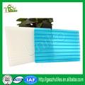 высокое качество 10 лет гарантируем четкое прозрачный зеленое озеро голубой опал белый... поликарбонат двойной- стены лист пк полый лист