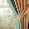 Classic ready-made valance curtain patterns for living room
