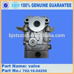 Hydraulic excavator spare parts pvc ball valve 702-16-04250