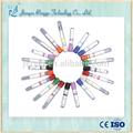 Vidrio de alta calidad/de plástico desechables médicos la sangre del vacío tubo de ensayo