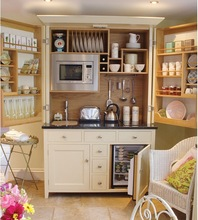 Free design for Mini Kitchenette, Shaker style small kitchen, small kitchen designs