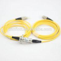 MFO100 (1 channel FORJ) slip ring fabricante fiber optic slip rings