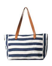 New women Shopper handbag Ladies Cotton Canvas Fashion Shopping bag Stripe Print Tote Bag From Manufactory