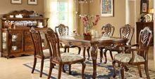 dark oak dining table&chair