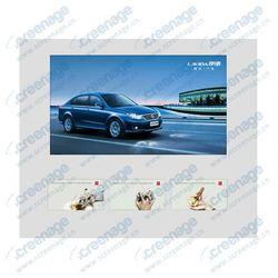 Multi-screen! Indoor Wall mounted solar power advertising display
